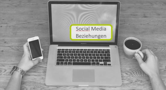 Social Media Beziehungen