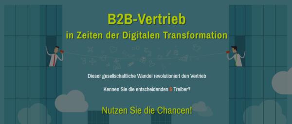 Neues Webinar: B2B-Vertrieb in Zeiten der Digitalen Transformation