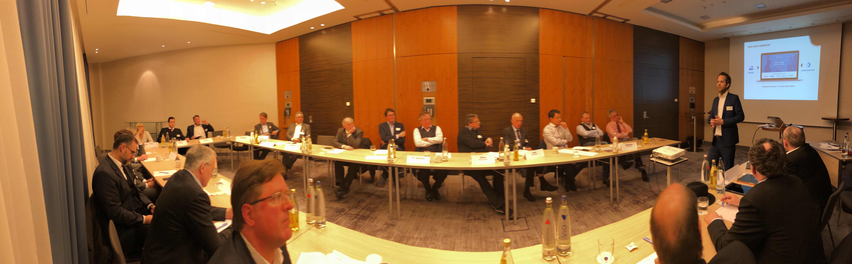 """26 Teilnehmer waren bei der DDIM Regional // Berlin-Brandeburg mit dem Thema """"Plattformen für Interim Manager"""" dabei."""