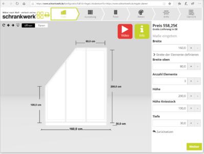 Produkt-Konfigurator: Das Beispiel von Schrankwerk