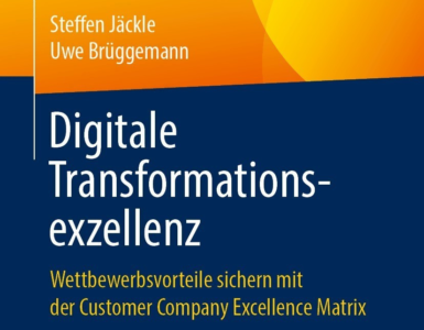 Digitale Strategie entwerfen: Das Buch Digitale Transformationsexzellenz bringt Sie weiter.