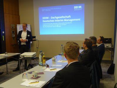 DDIM.regional Berlin-Brandenburg: KI für Interim Manager