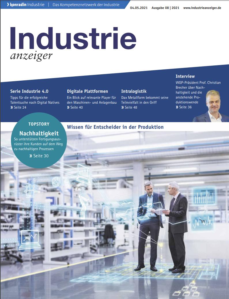 Industrie anzeiger 2021-08
